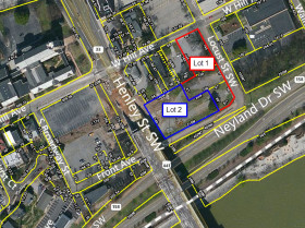 PENDING: Downtown Knoxville<br>River View - Land