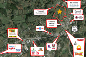 Will Divide: Tazewell Development Land (Residential/Medical/Commercial/Student)